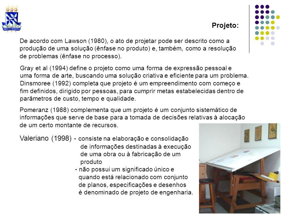 Valeriano (1998) - consiste na elaboração e consolidação
