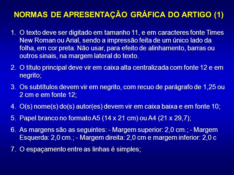 NORMAS DE APRESENTAÇÃO GRÁFICA DO ARTIGO (1)