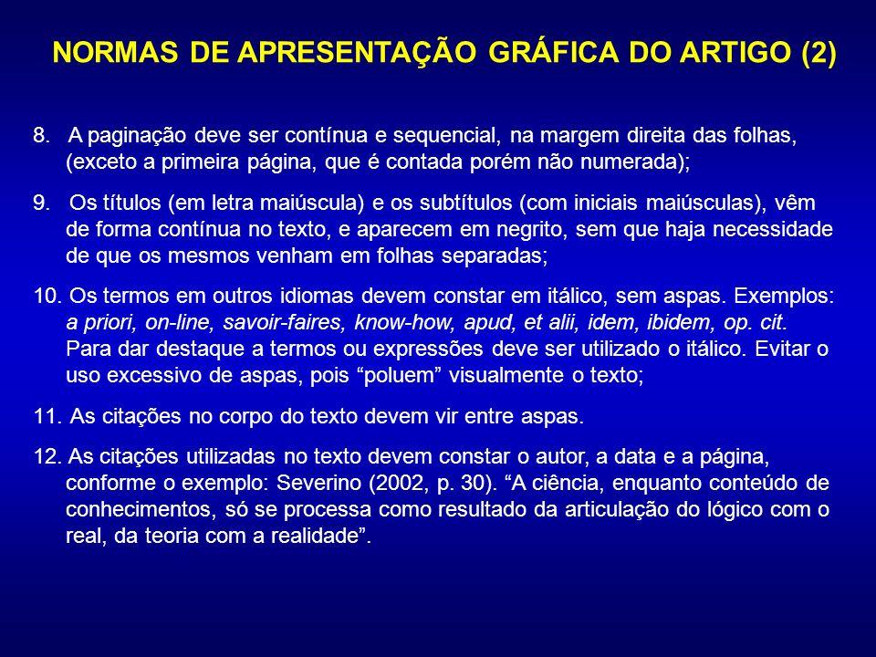 NORMAS DE APRESENTAÇÃO GRÁFICA DO ARTIGO (2)