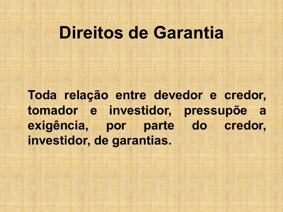 Direitos de Garantia