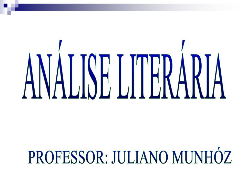 PROFESSOR: JULIANO MUNHÓZ