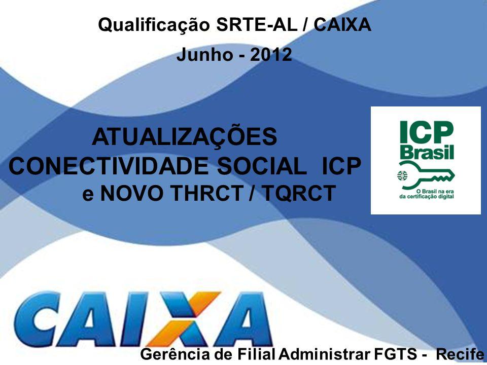 Qualificação SRTE-AL / CAIXA