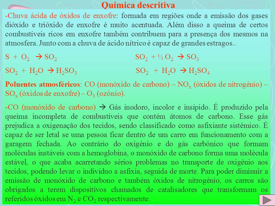 Química descritiva