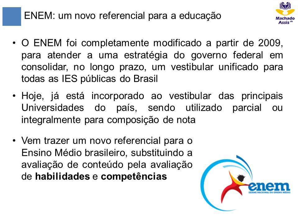 ENEM: um novo referencial para a educação