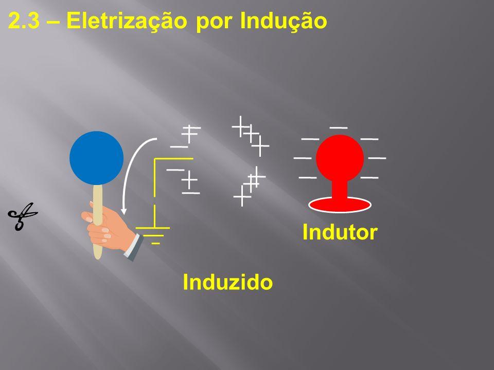 2.3 – Eletrização por Indução
