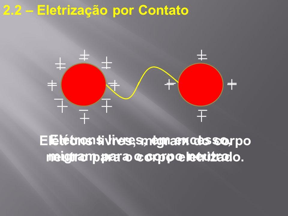 2.2 – Eletrização por Contato