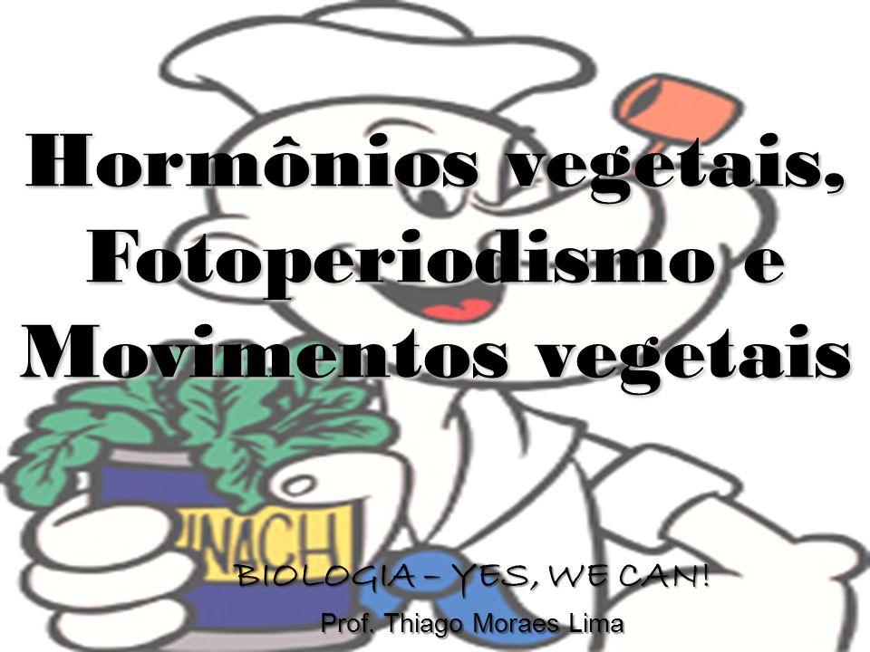 Hormônios vegetais, Fotoperiodismo e Movimentos vegetais