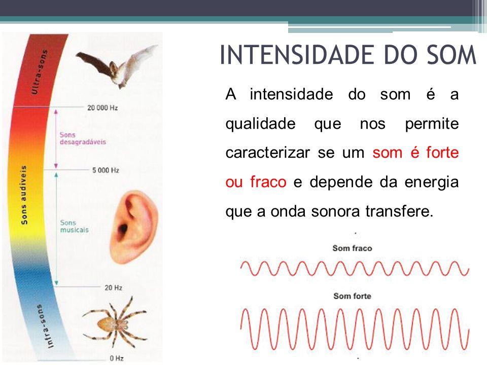 INTENSIDADE DO SOM