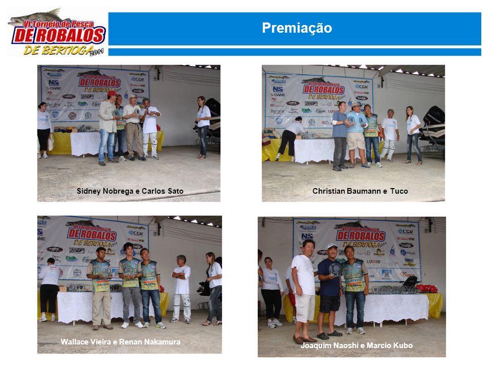 Premiação Sidney Nobrega e Carlos Sato Christian Baumann e Tuco