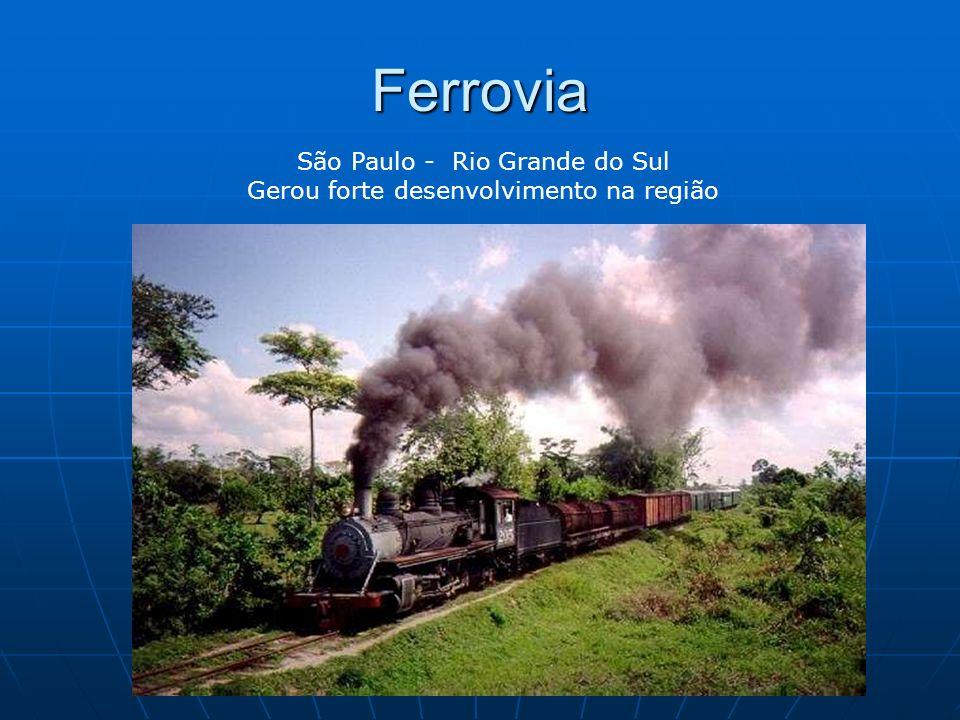 Ferrovia São Paulo - Rio Grande do Sul