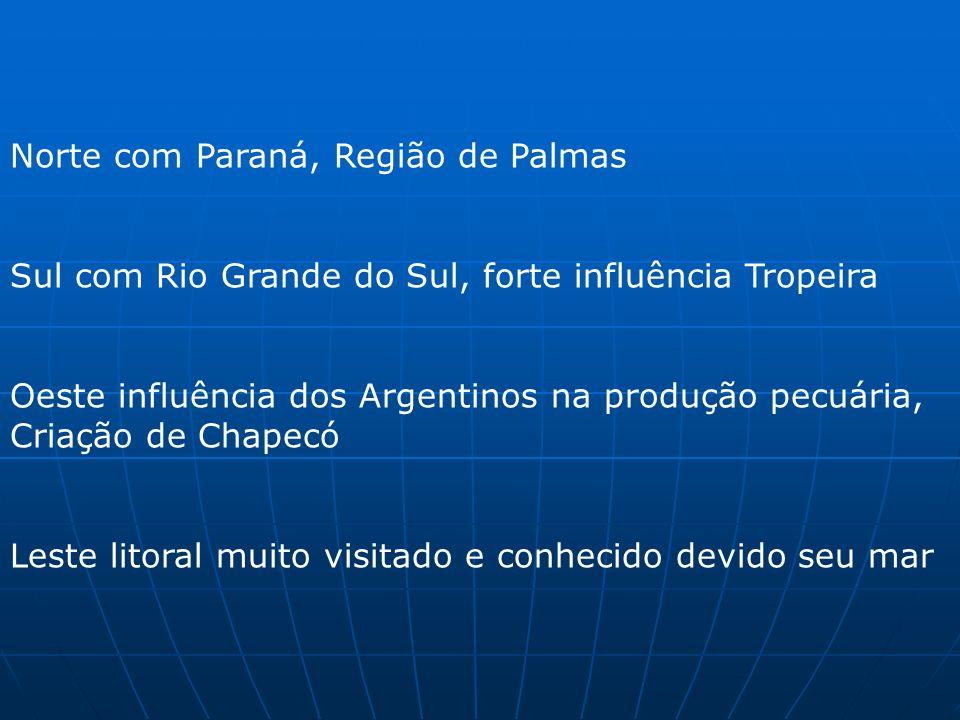Norte com Paraná, Região de Palmas