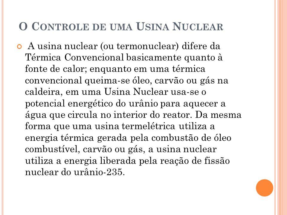 O Controle de uma Usina Nuclear