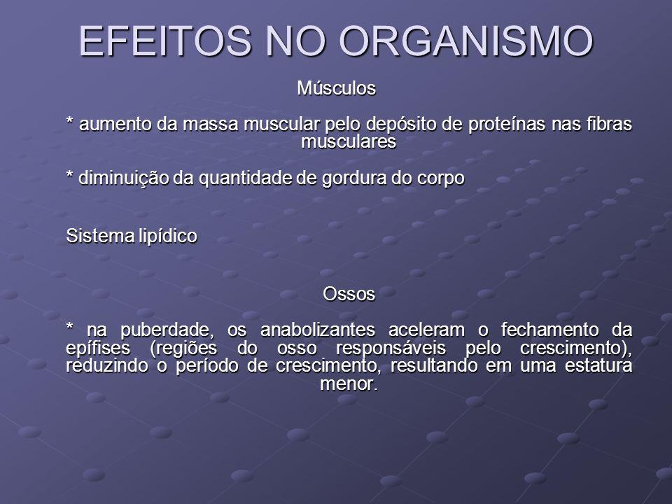 EFEITOS NO ORGANISMO