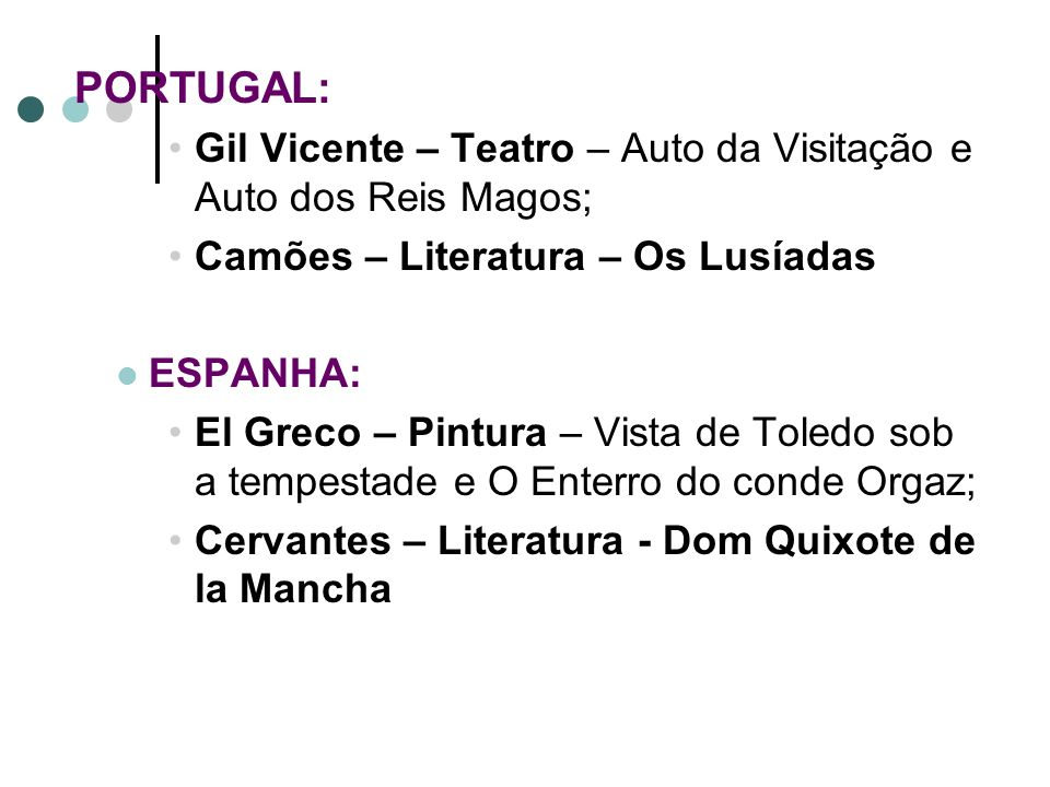 Gil Vicente – Teatro – Auto da Visitação e Auto dos Reis Magos;