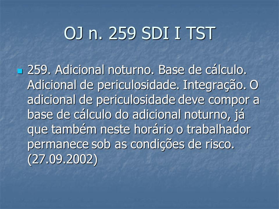 OJ n. 259 SDI I TST