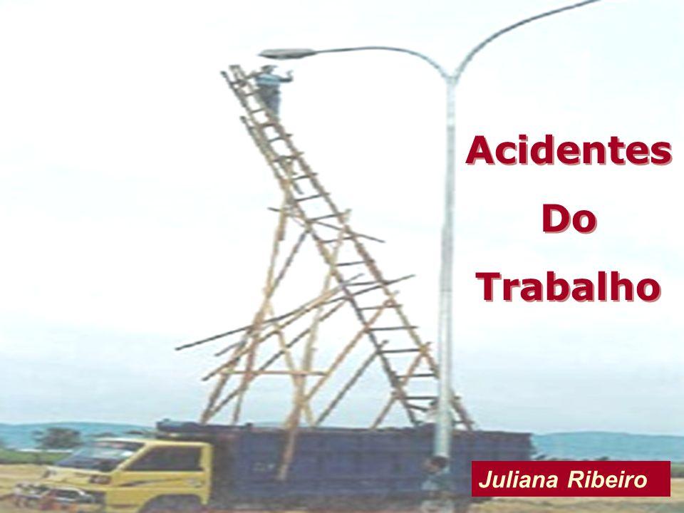Acidentes Do Trabalho Juliana Ribeiro
