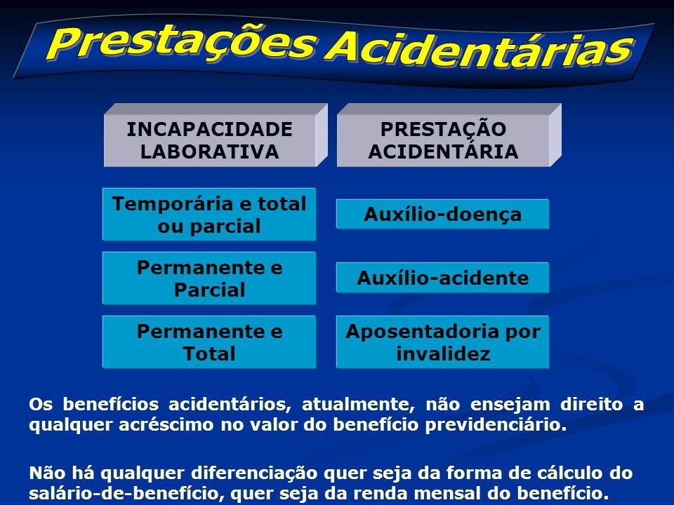 Prestações Acidentárias