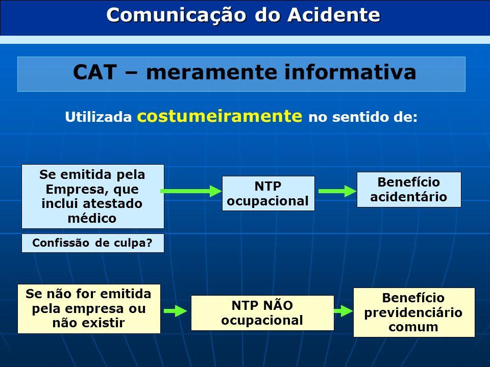 CAT – meramente informativa