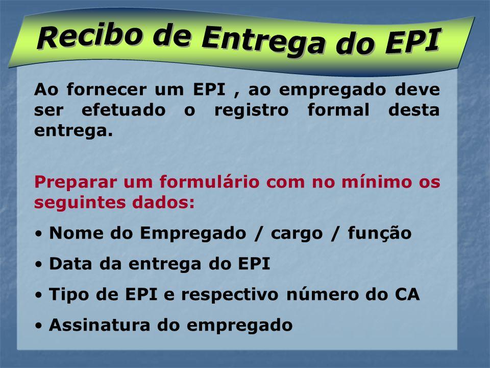 Recibo de Entrega do EPI