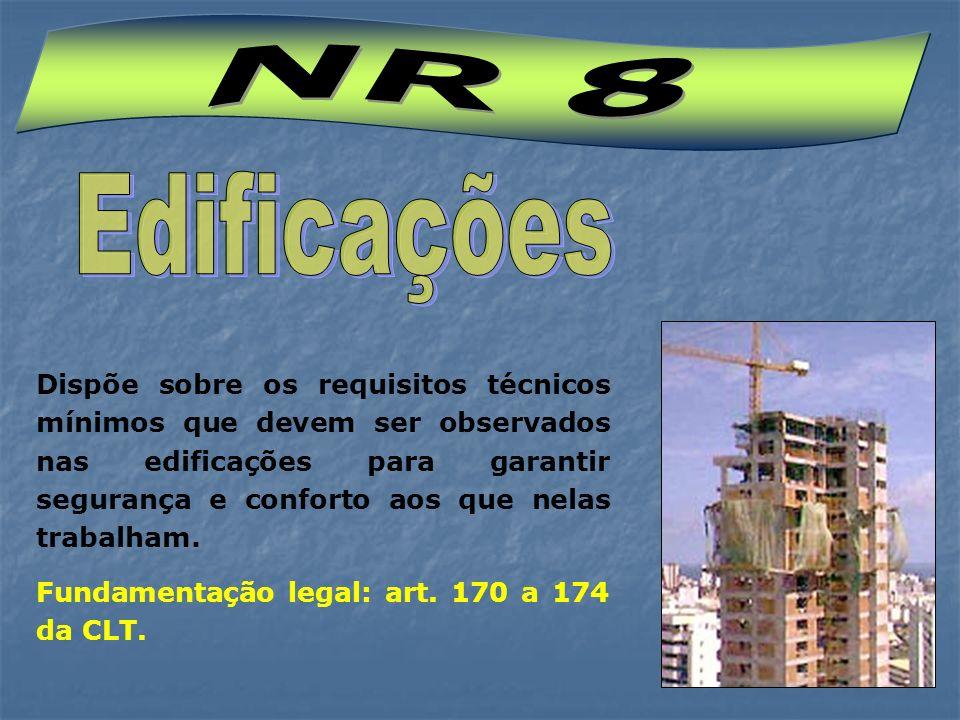 NR 8 Edificações.