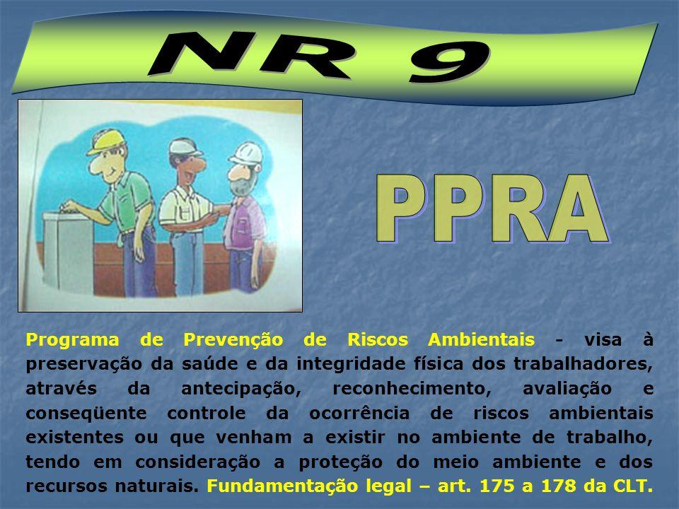 NR 9 PPRA.