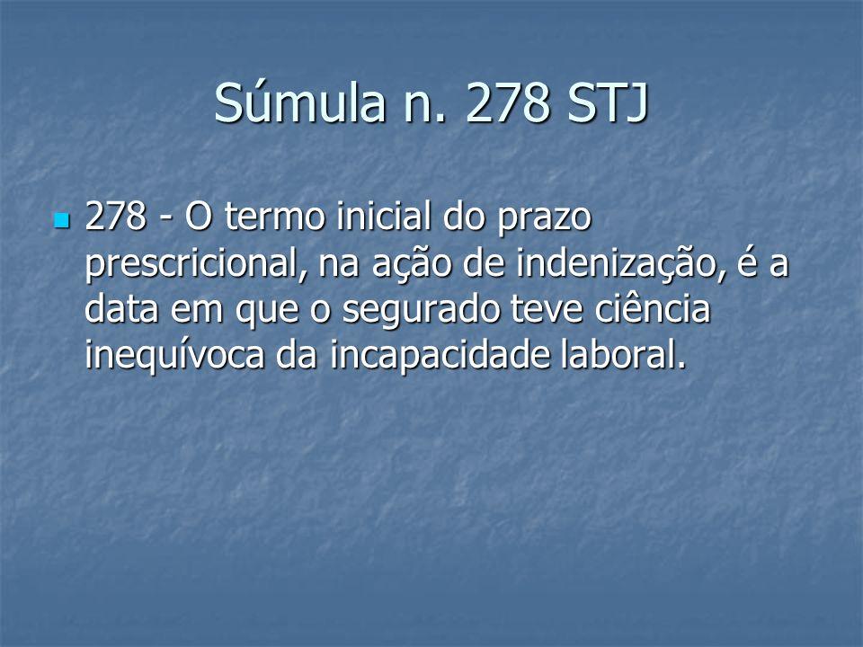 Súmula n. 278 STJ