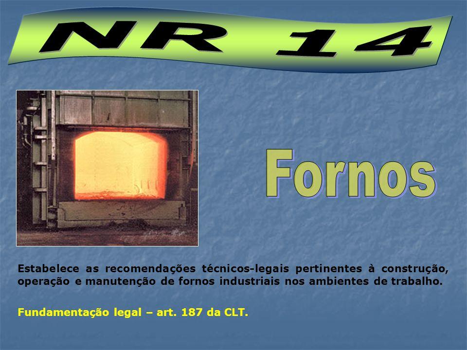 NR 14 Fornos.