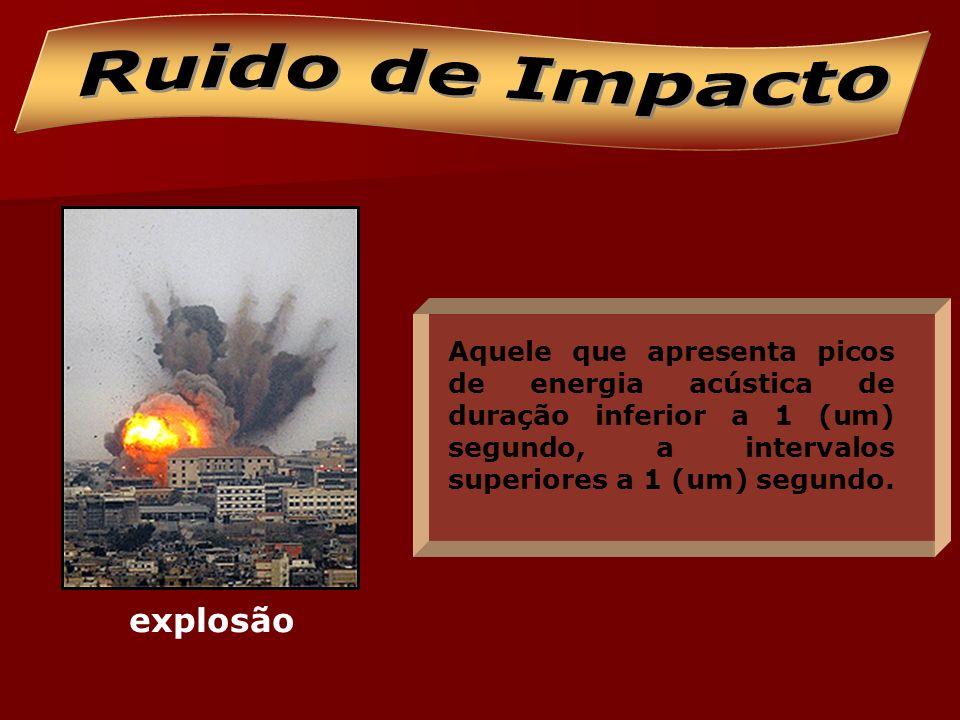 Ruido de Impacto explosão