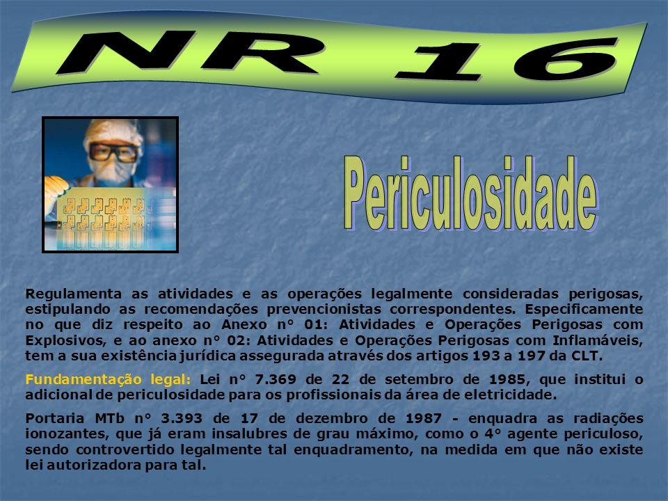 NR 16 Periculosidade.
