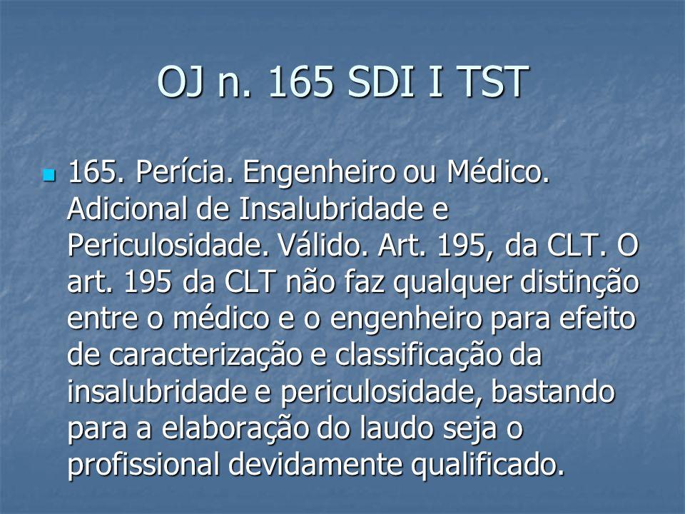 OJ n. 165 SDI I TST