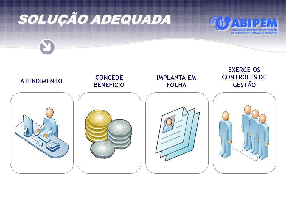 EXERCE OS CONTROLES DE GESTÃO