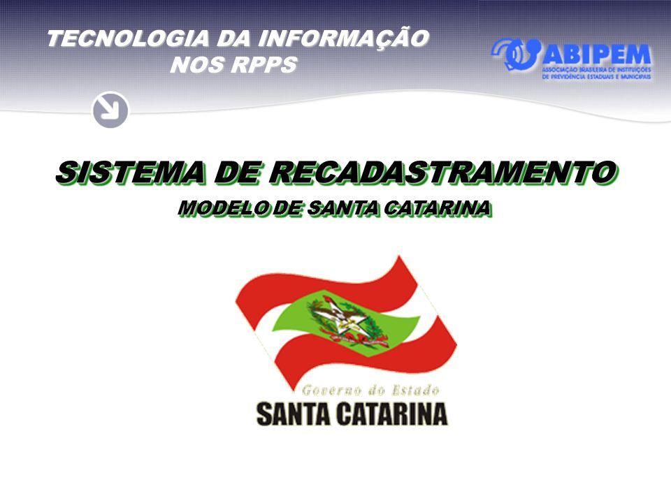 SISTEMA DE RECADASTRAMENTO