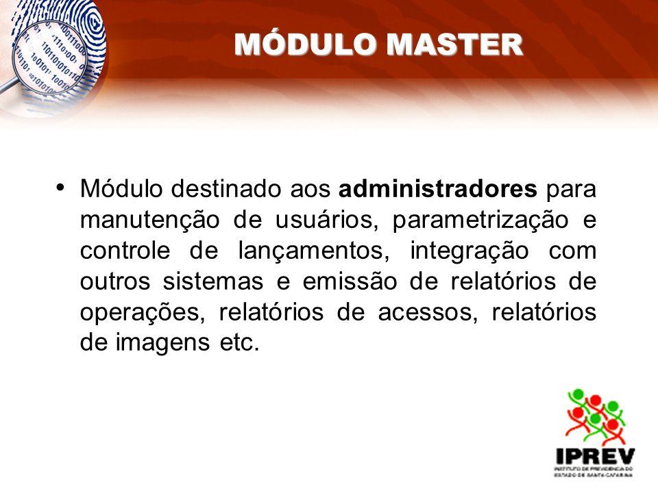 MÓDULO MASTER