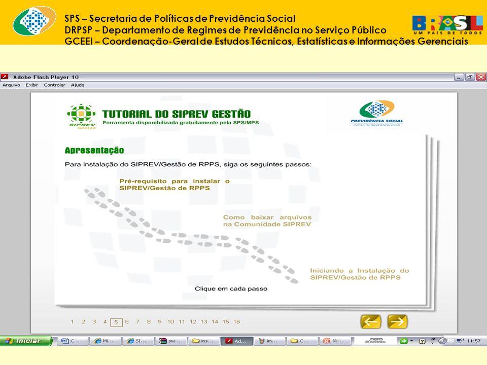 SPS – Secretaria de Políticas de Previdência Social