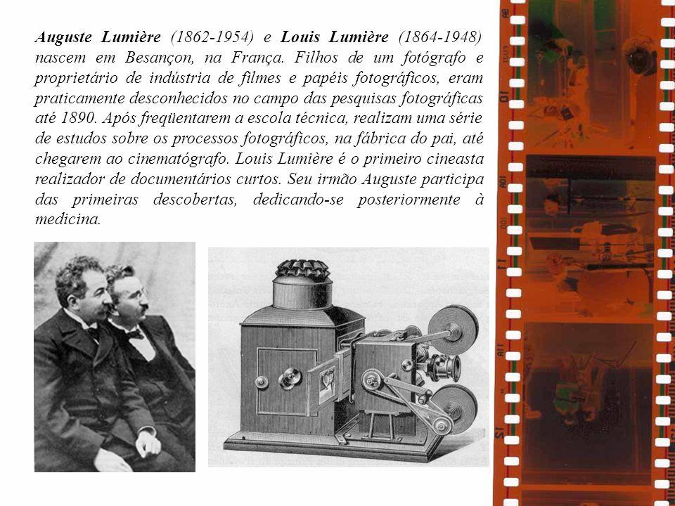 Auguste Lumière (1862-1954) e Louis Lumière (1864-1948) nascem em Besançon, na França.