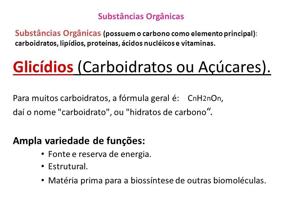 Substâncias Orgânicas
