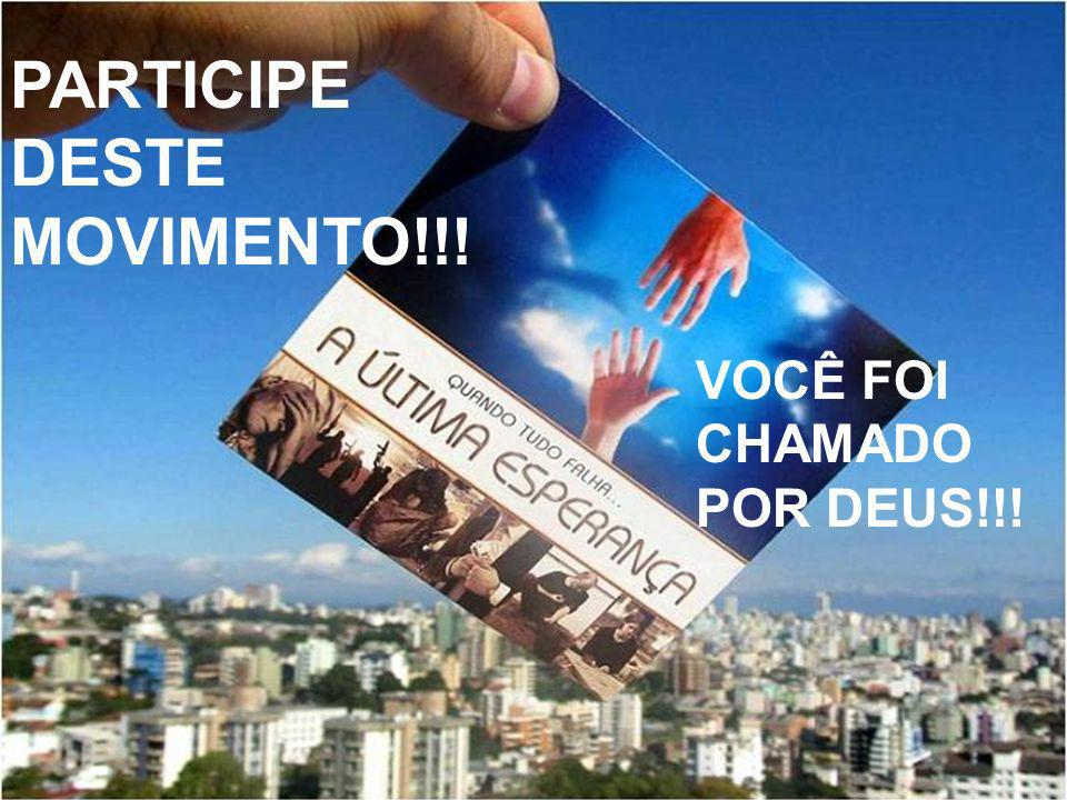 PARTICIPE DESTE MOVIMENTO!!!