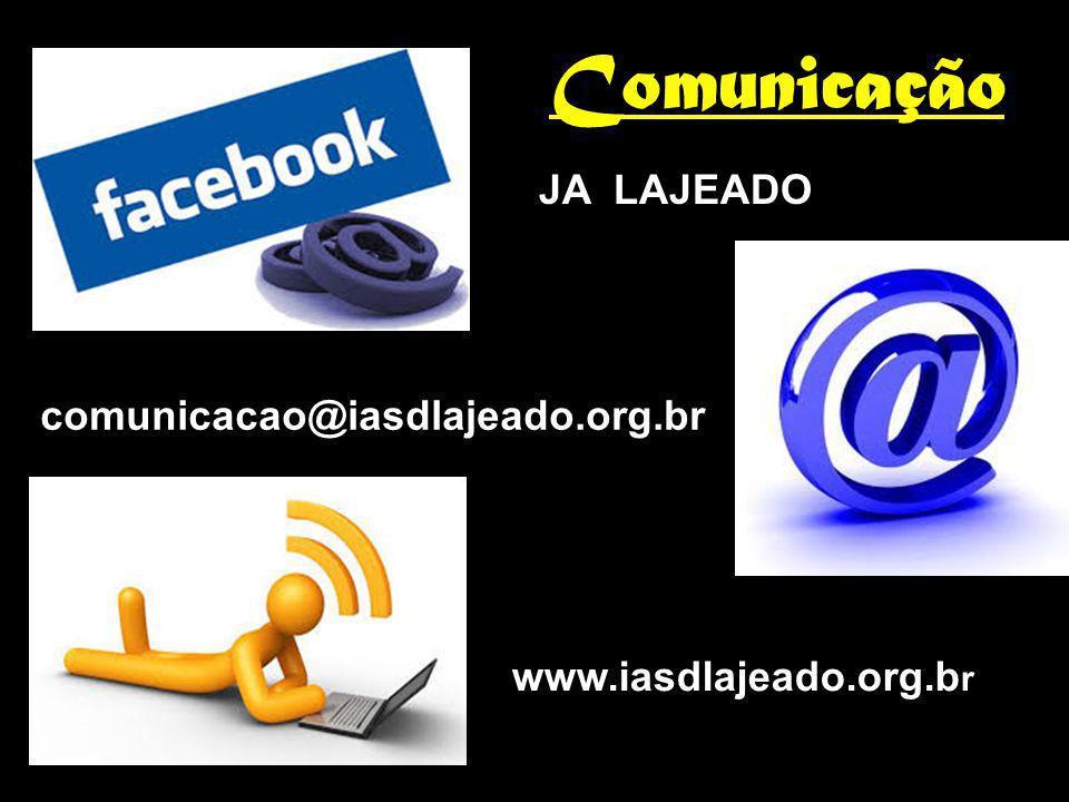 Comunicação JA LAJEADO comunicacao@iasdlajeado.org.br