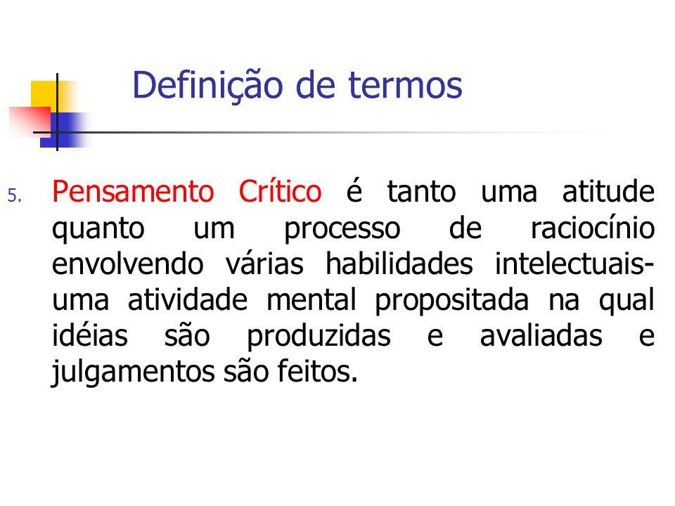 Definição de termos