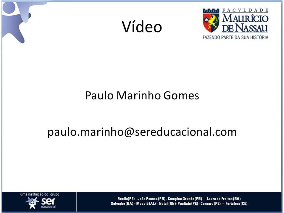 Paulo Marinho Gomes paulo.marinho@sereducacional.com