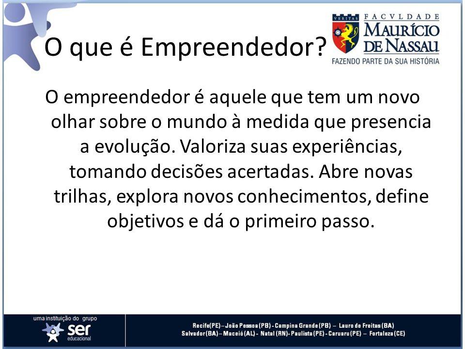 O que é Empreendedor