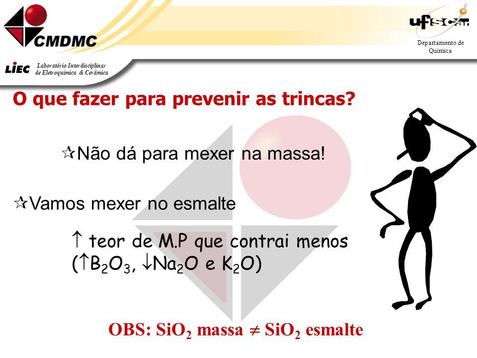 O que fazer para prevenir as trincas