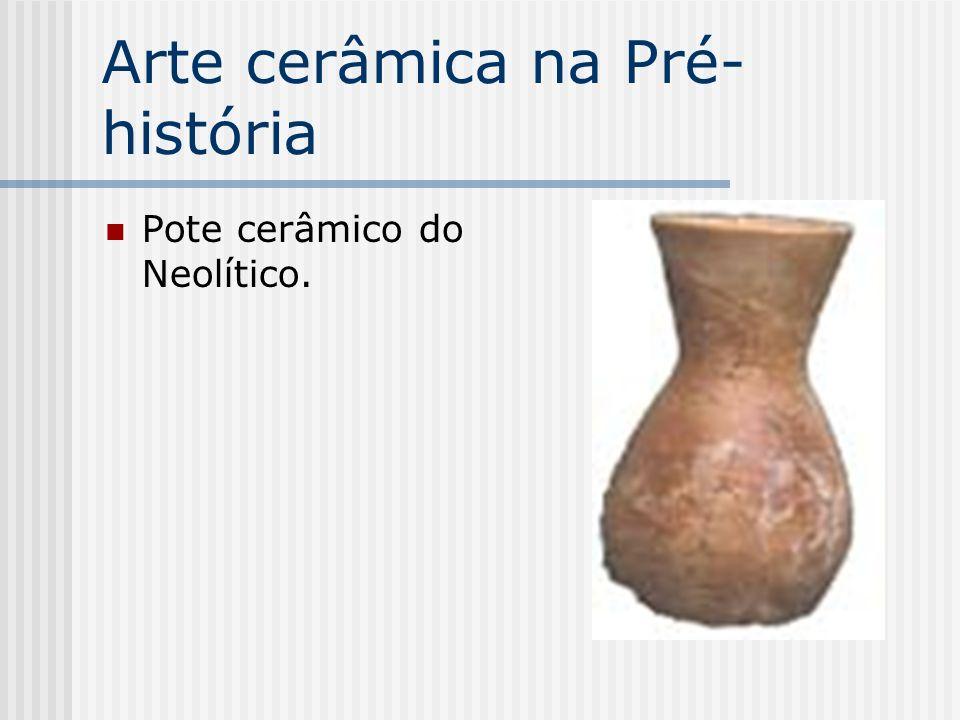 Arte cerâmica na Pré-história