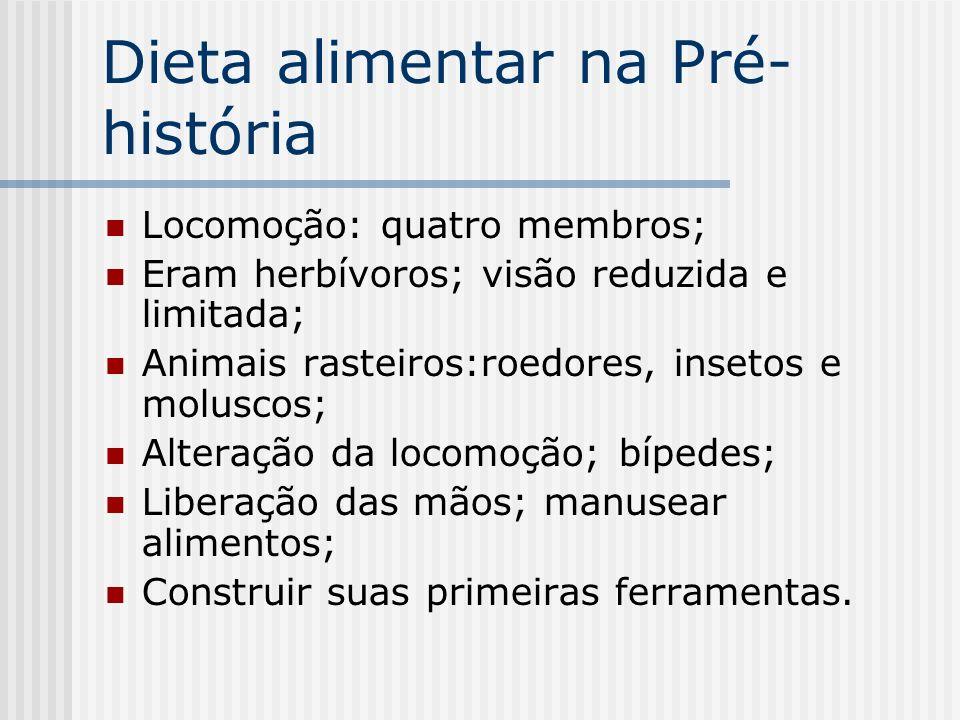 Dieta alimentar na Pré-história