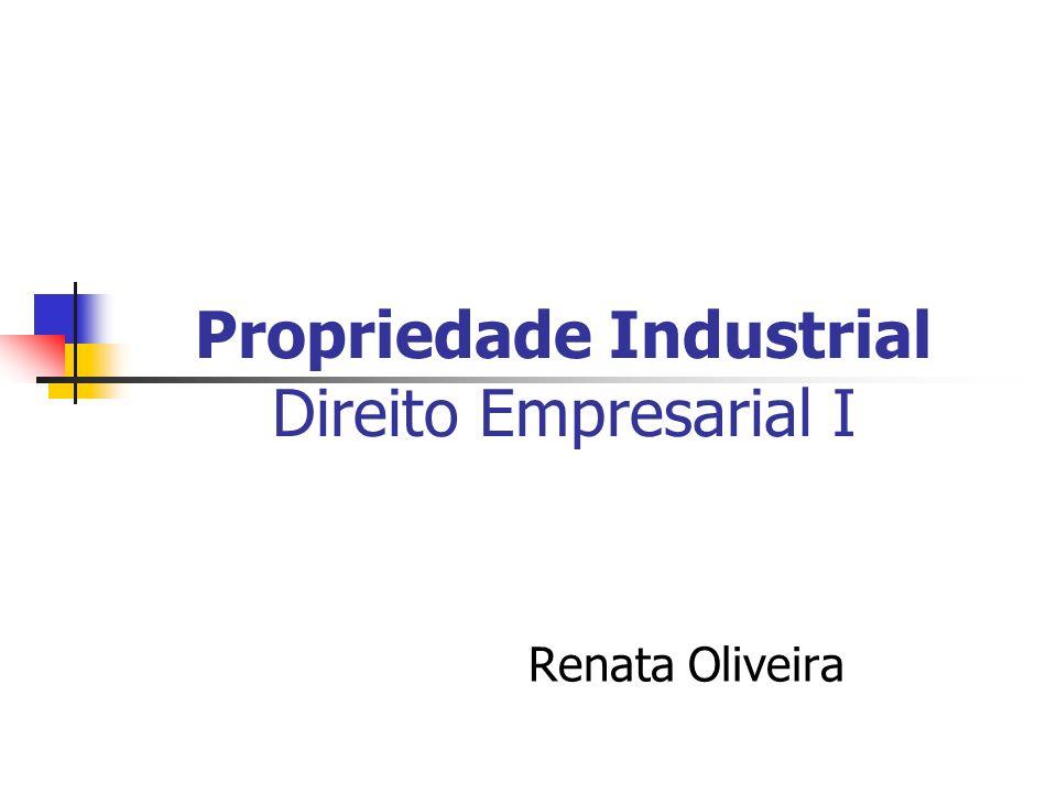 Propriedade Industrial Direito Empresarial I