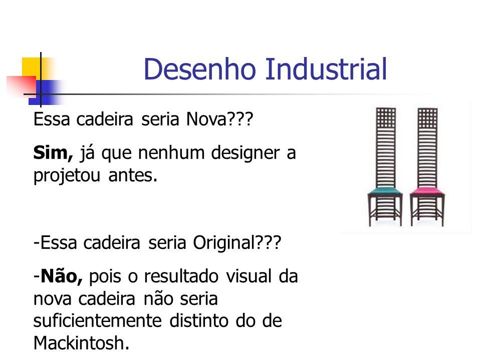Desenho Industrial Essa cadeira seria Nova