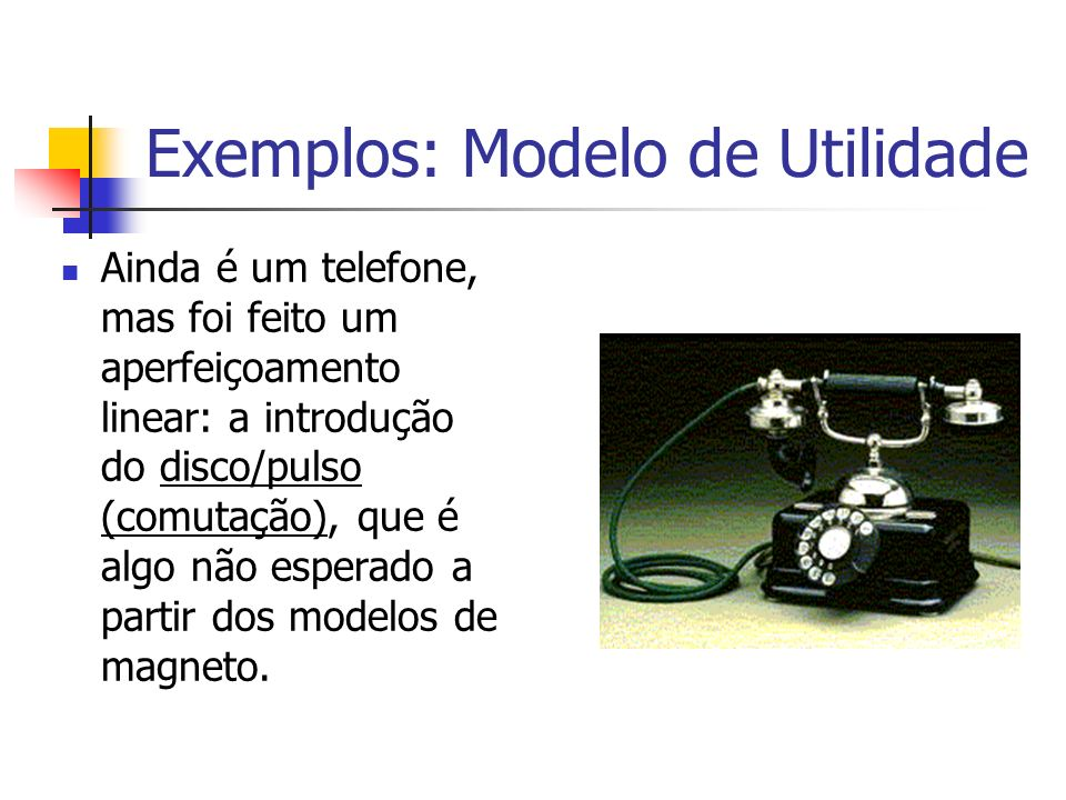 Exemplos: Modelo de Utilidade