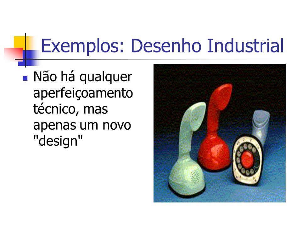 Exemplos: Desenho Industrial
