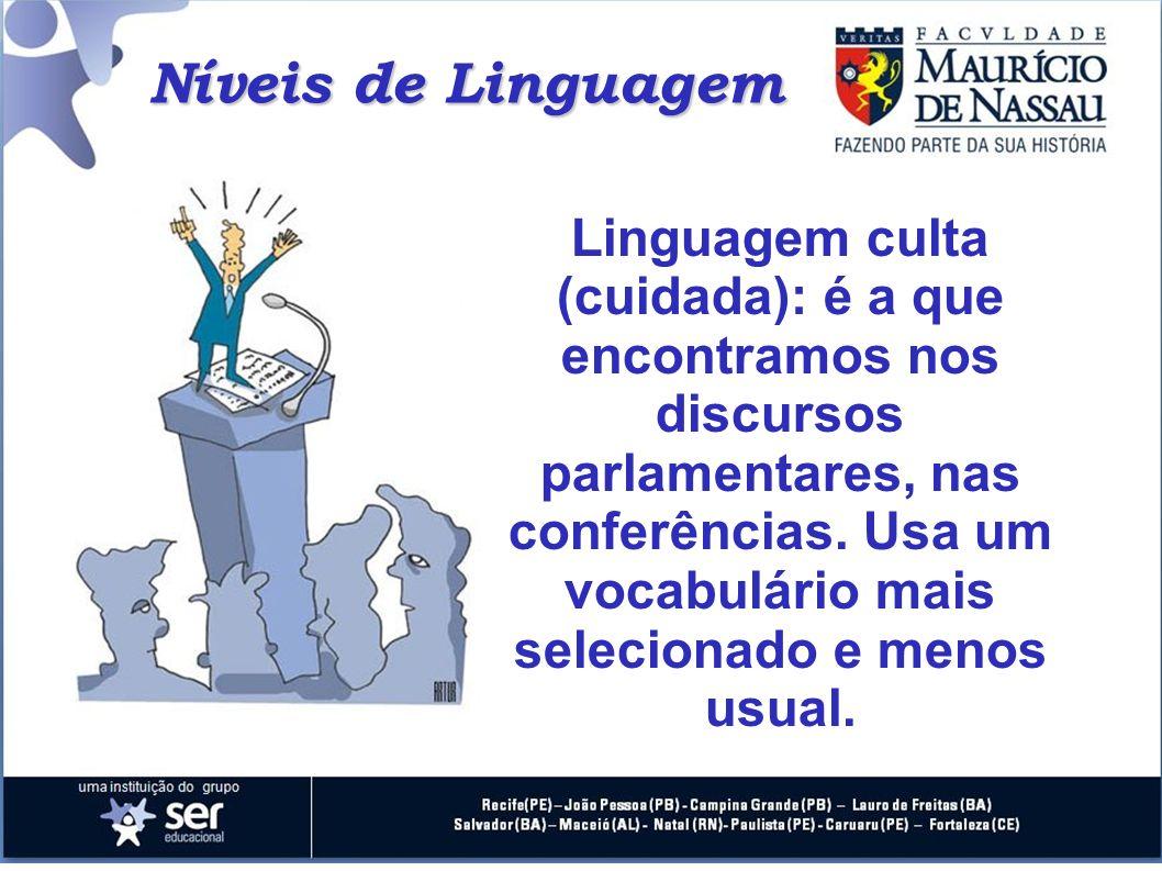 Níveis de Linguagem
