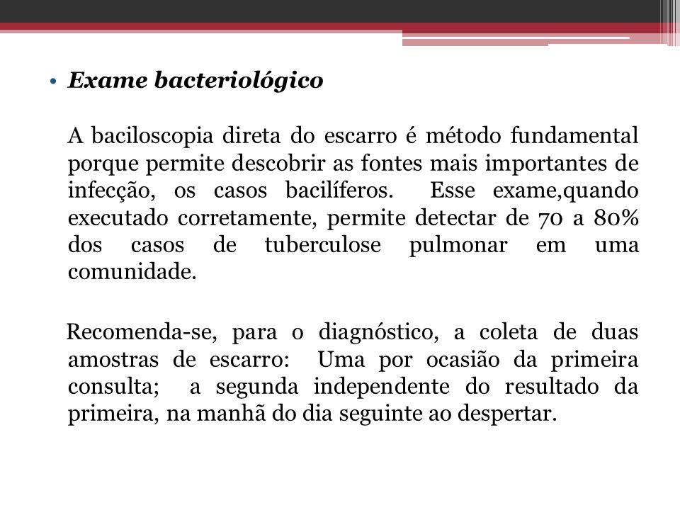 Exame bacteriológico